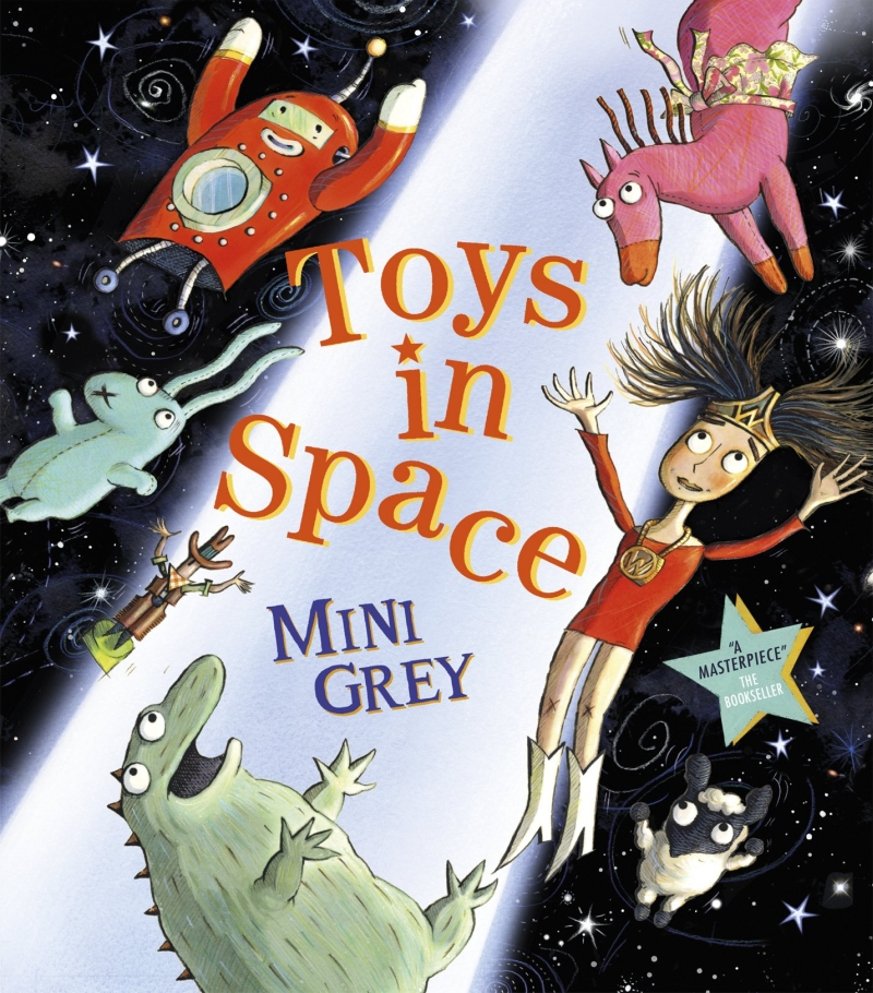 Photo of Toys In Space by Mini Grey Review