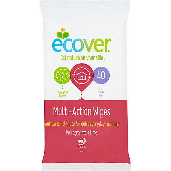 Photo of Ecover Multi Action Wipes Review