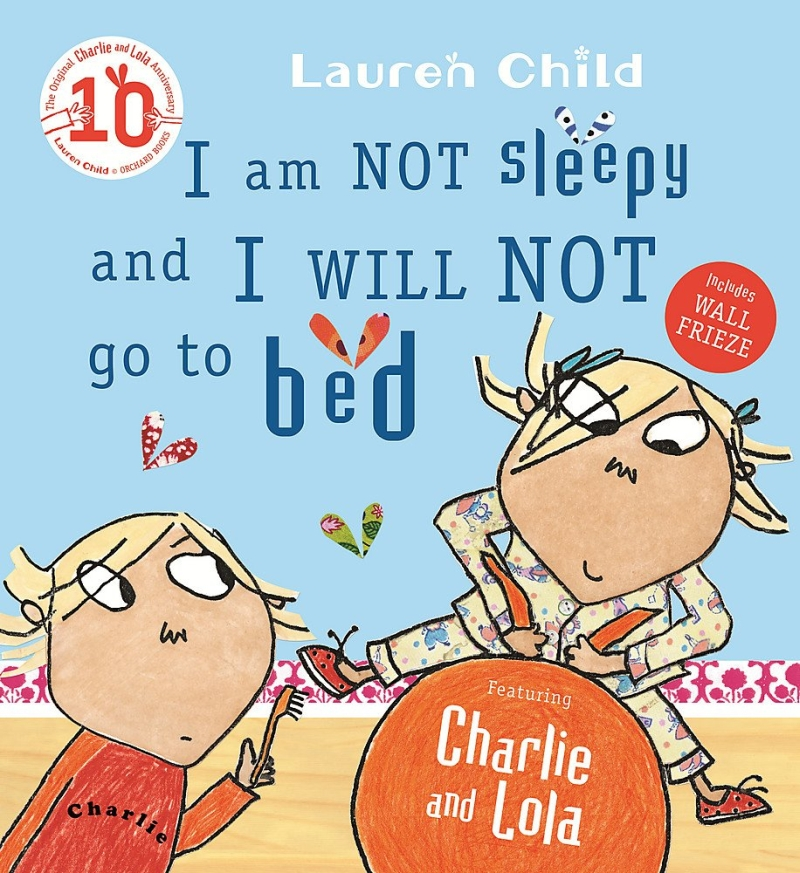 Photo of I Am Not Sleepy and I Will Not Go To Bed by Lauren Child Review
