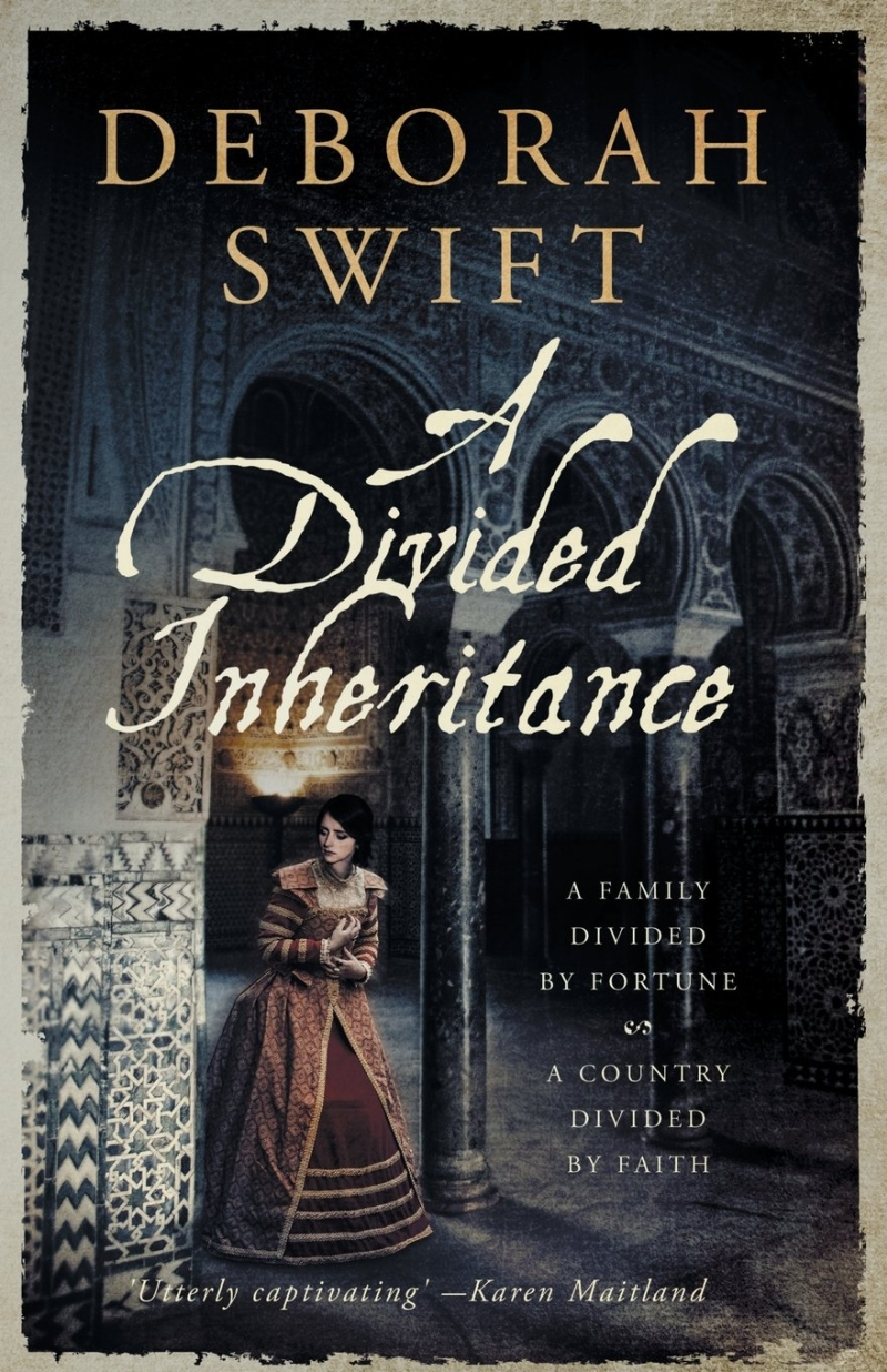 Photo of A Divided Inheritance by Deborah Swift Review