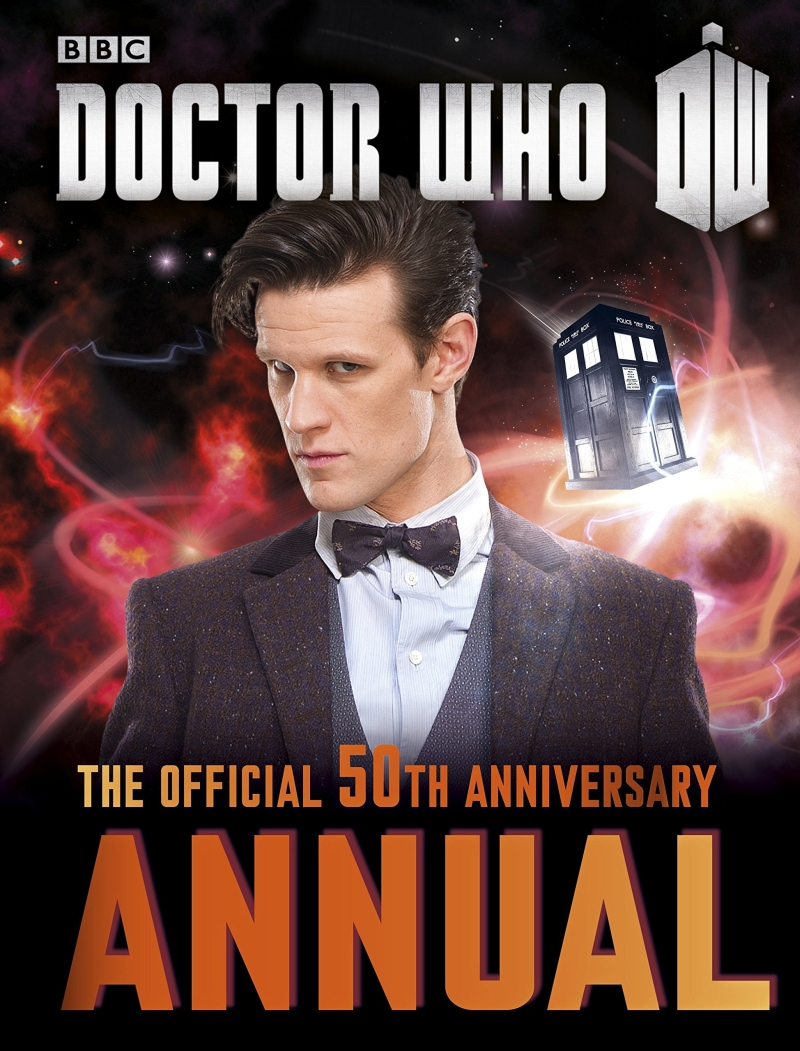 Photo of Doctor Who Official 50th Anniversary Annual Review