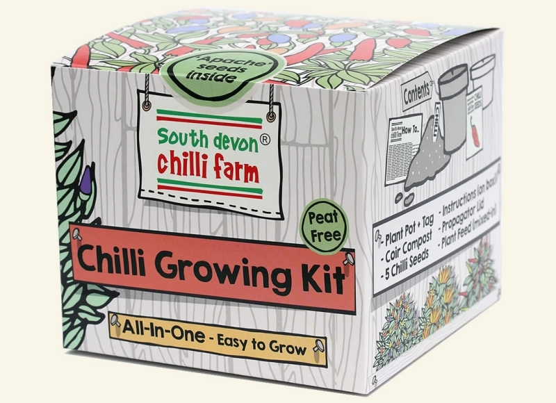 Photo of One Pot Chilli Growing Kit Review