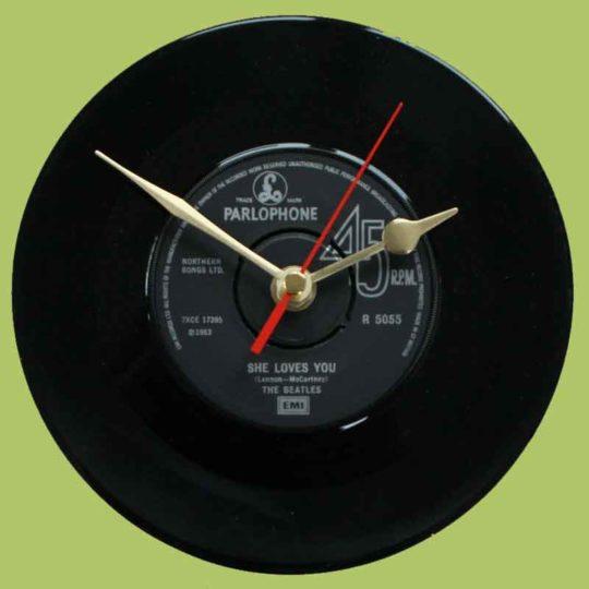 Photo of Beatles Vinyl Clock Review