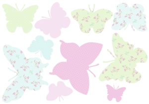 Photo of ASPACE Butterflies Wall Stickers Review