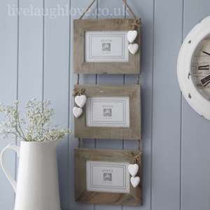 Photo of Natural Wooden Horizontal Trio Frame Review