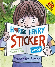 Photo of Horrid Henry Sticker Book by Francesca Simon Review