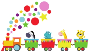 Photo of Stickerscape Jungle Train Wall Sticker Review