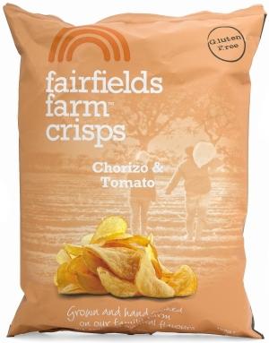 Photo of Fairfields Farm Crisps Chorizo & Tomato Review
