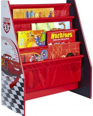 Photo of Worlds Apart Disney Cars Sling Bookcase Review