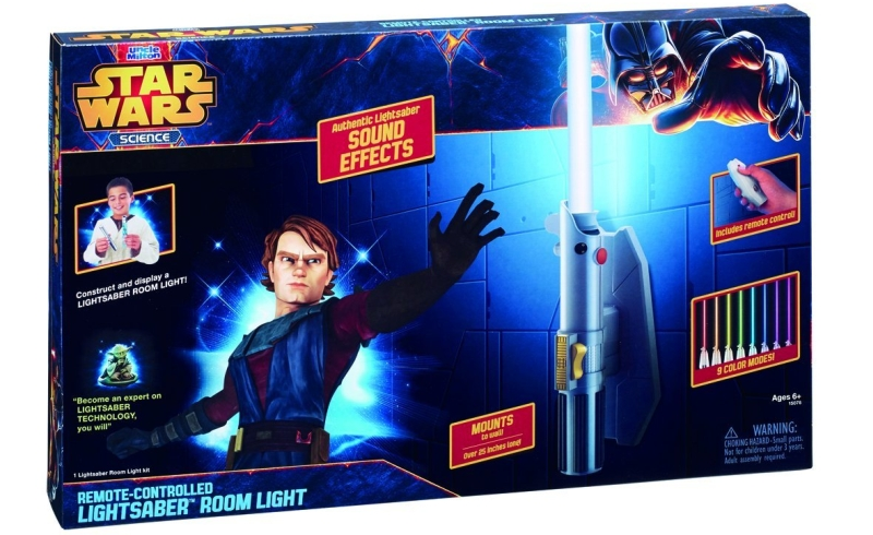 Photo of Star Wars Science Deluxe Eight Colour Lightsaber Room Light Review