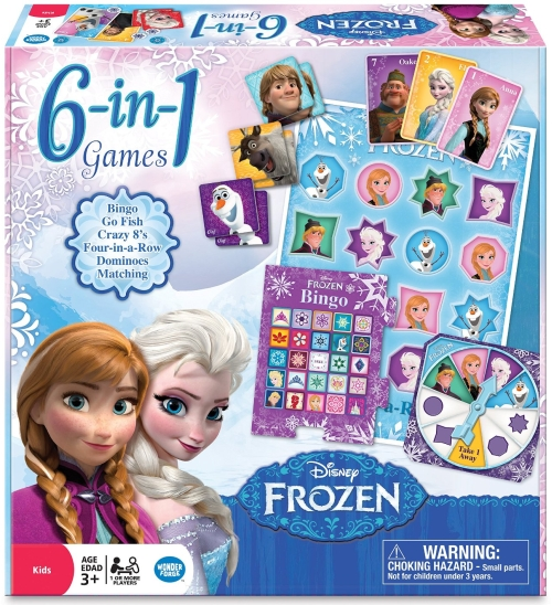 Photo of Esdevium Games Frozen 6-in-1 Classic Games Review