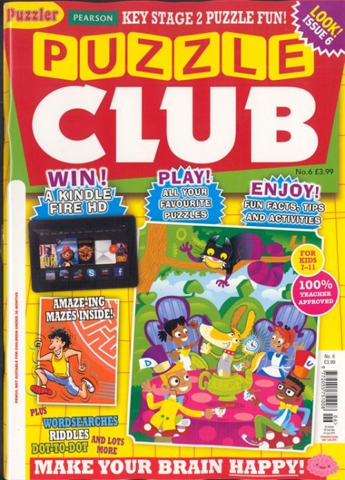 Photo of Puzzle Club Magazine Review