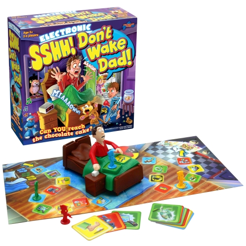 Photo of Sshh!! Don't Wake Dad Board Game Review