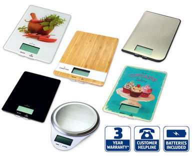 Aldi Crofton Digital Kitchen Scales Review