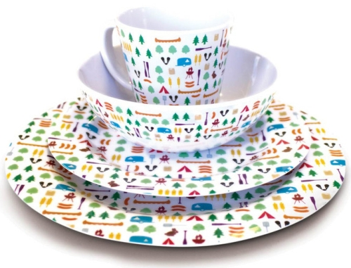 Photo of OLPRO 8 Piece Berrow Hill Melamine Set Review