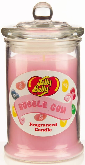 Photo of Jelly Belly Fragranced Candle Jar – Bubble Gum Candle Review