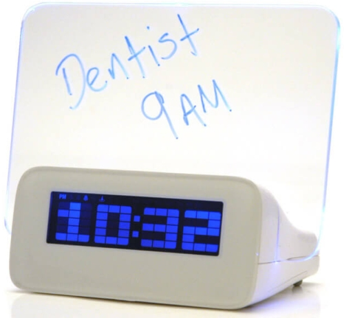 Photo of Prezzybox Scribble Writing Alarm Clock Review