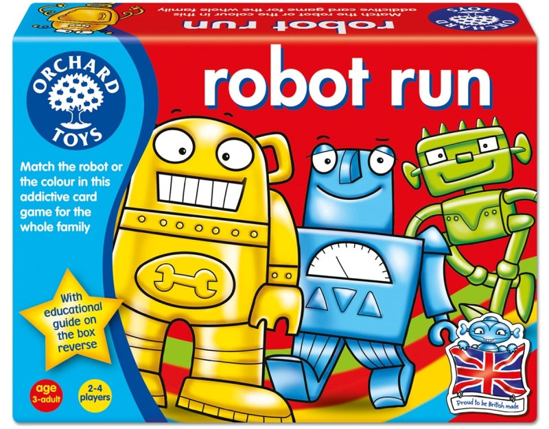 Photo of Orchard Toys Robot Run Review