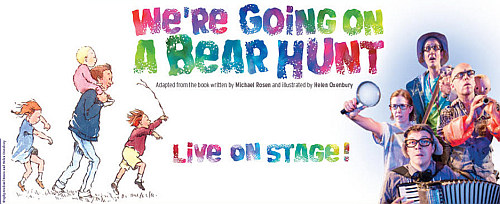 Photo of We're Going on a Bear Hunt Live at the New Theatre Oxford Review