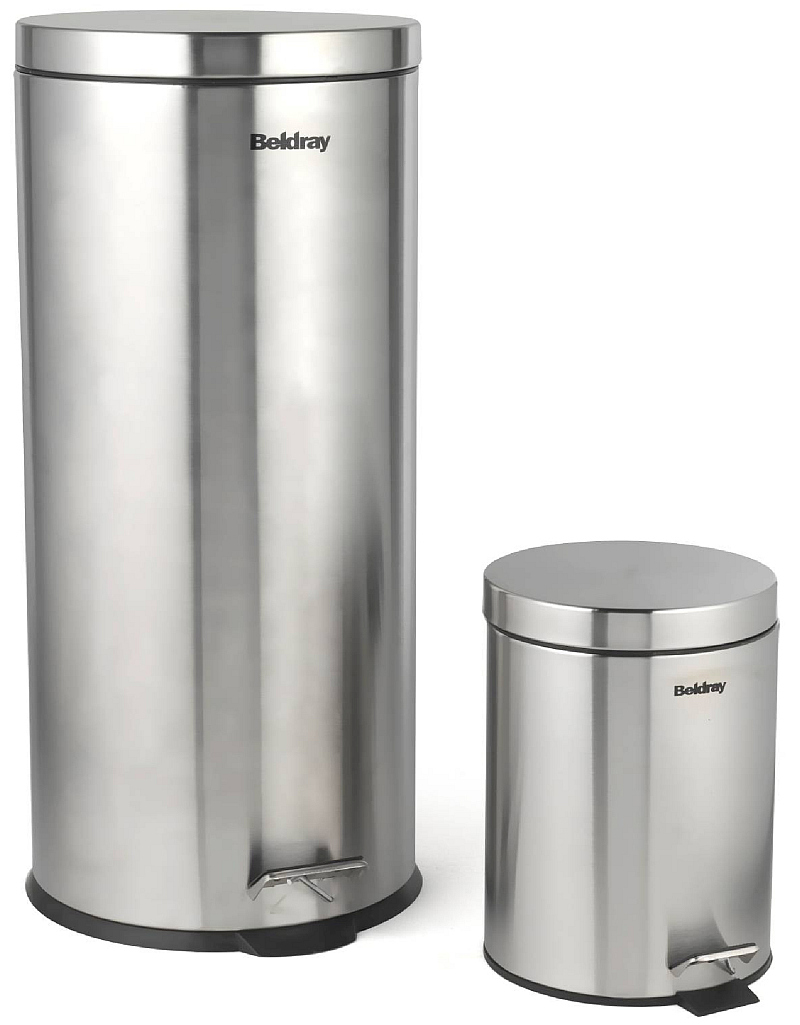 Photo of Beldray 30 Litre and 5 Litre Round Pedal Bin Set Review