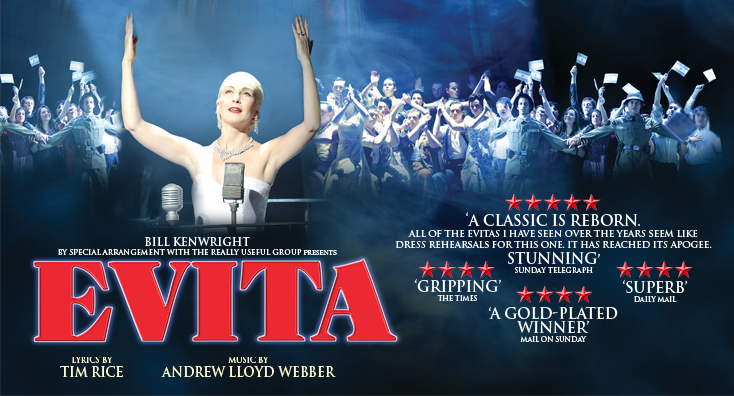 Photo of Evita at the King's Theatre Glasgow Review