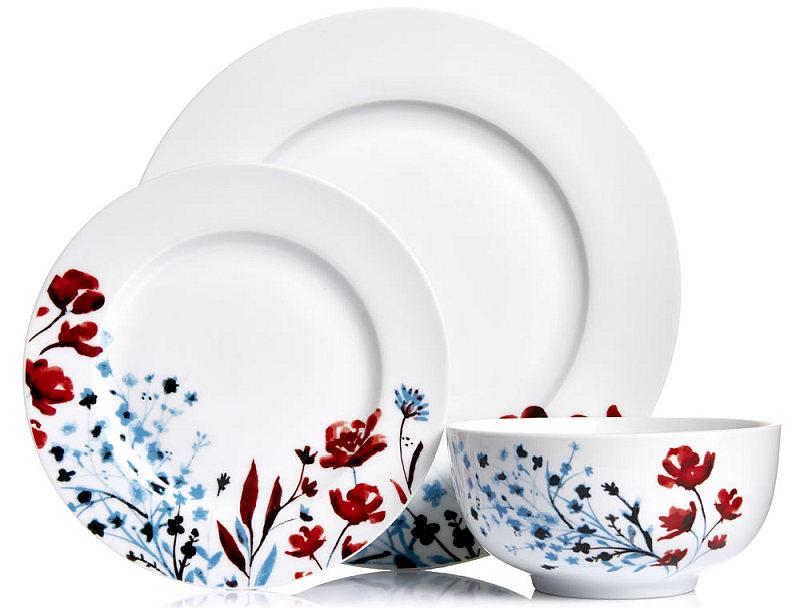 Photo of Wilko 12 Piece Oriental Blossom Dinner Set Review