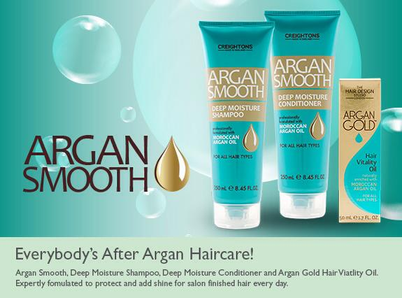 Photo of Creightons Argan Smooth Haircare Range Review