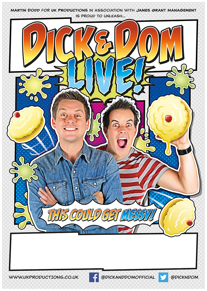 Photo of Dick & Dom Live at the Alhambra Theatre Bradford Review