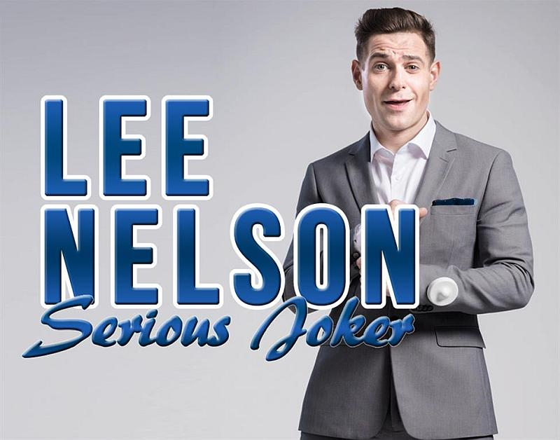 Photo of Lee Nelson: Serious Joker at the Lawrence Batley Theatre Review