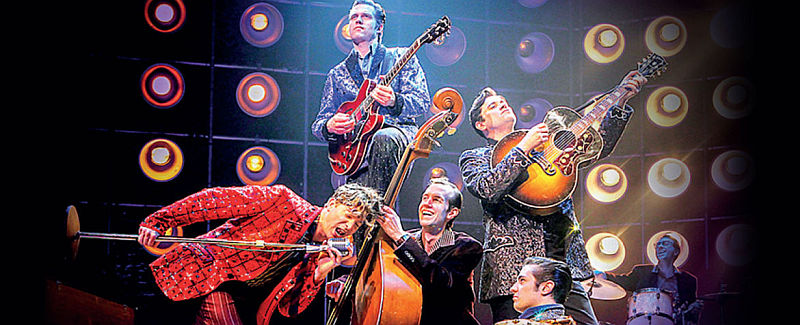 Photo of Million Dollar Quartet at the Royal & Derngate Review