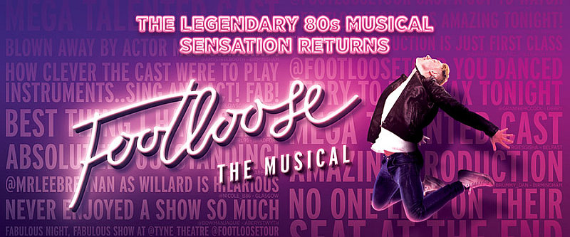 Photo of Footloose The Musical at the Preston Guild Hall Review