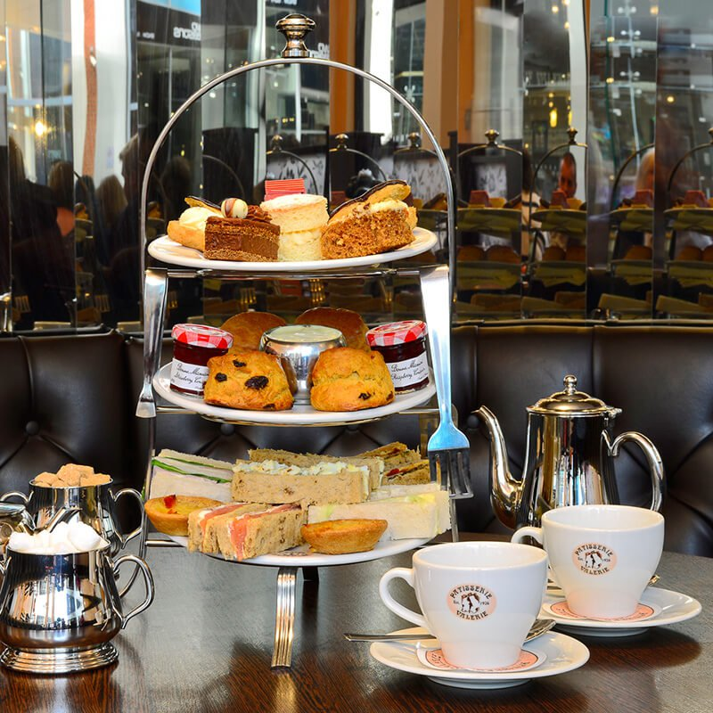 Photo of Prezzybox Afternoon Tea for Two at Patisserie Valerie with Cake Gift Box Review
