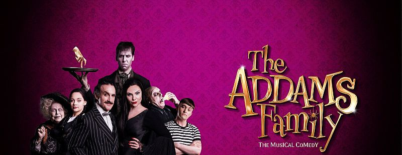 Photo of The Addams Family at the Alhambra Theatre Bradford Review