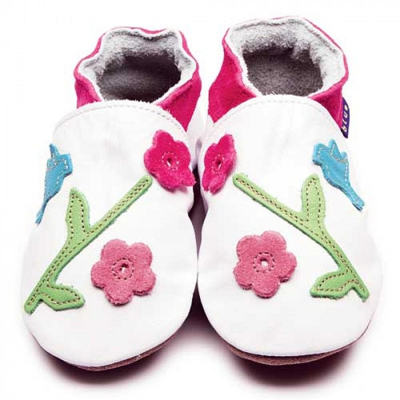 Photo of Inch Blue Oriental Bird Children's Shoes Review