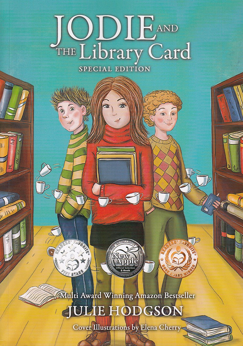 Photo of Jodie and the Library Card by Julie Hodgson Review