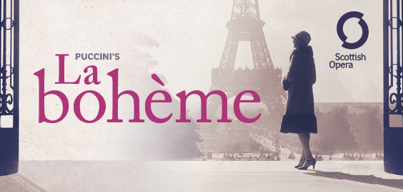 Photo of La Boheme at the Festival Theatre in Edinburgh Review
