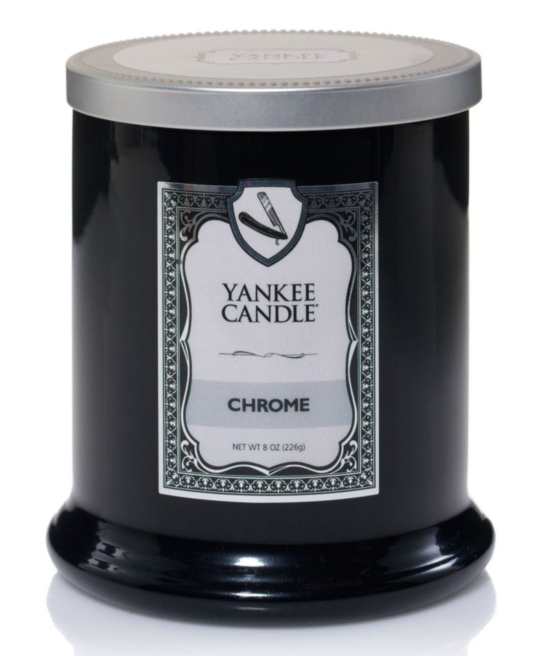Photo of Yankee Candle Chrome Footed Tumbler Candle Review