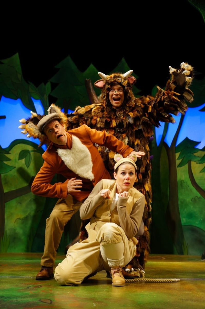Photo of The Gruffalo at The Lowry Manchester Review