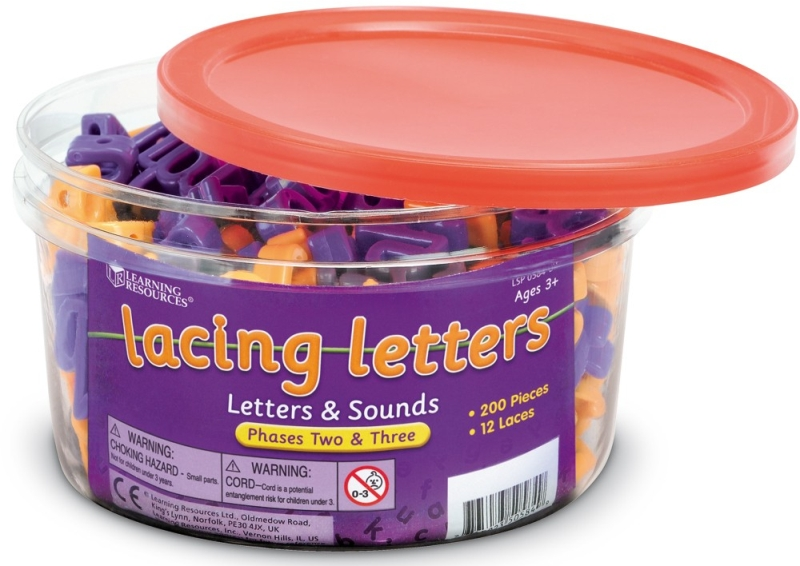 Photo of Learning Resources Lacing Letters: Letters & Sounds Review