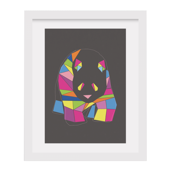 Photo of Cult Furniture Cult Living Art Work – Multi-Coloured Panda Review