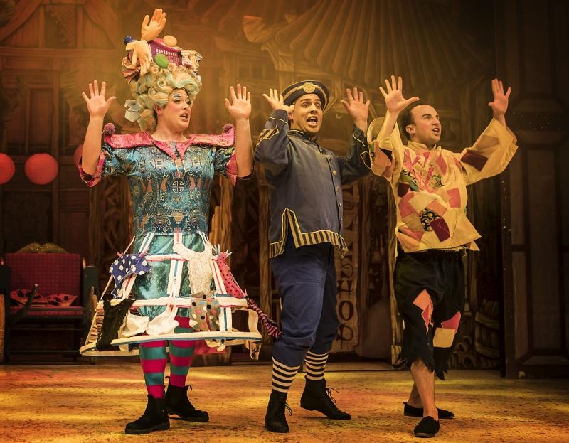 Photo of Aladdin at the Lichfield Garrick Review