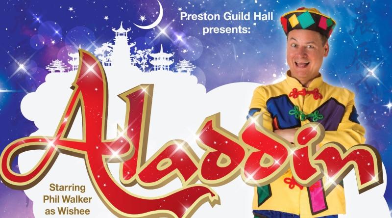 Photo of Aladdin at the Charter Theatre Preston Review