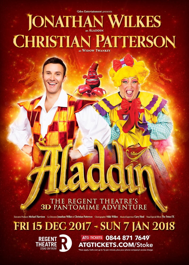 Photo of Aladdin at the Regent Theatre Stoke Review