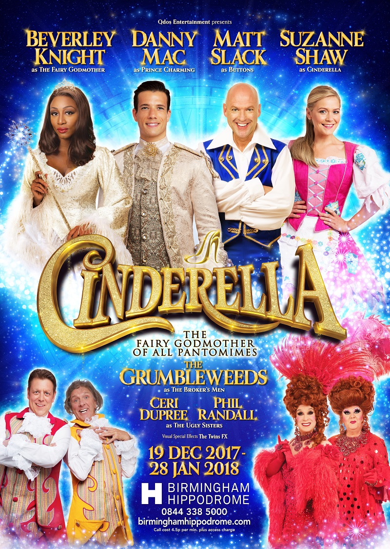 Photo of Cinderella at the Birmingham Hippodrome Review
