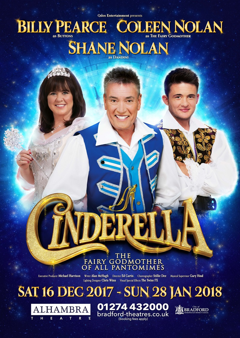 Photo of Cinderella at the Alhambra Theatre Bradford Review
