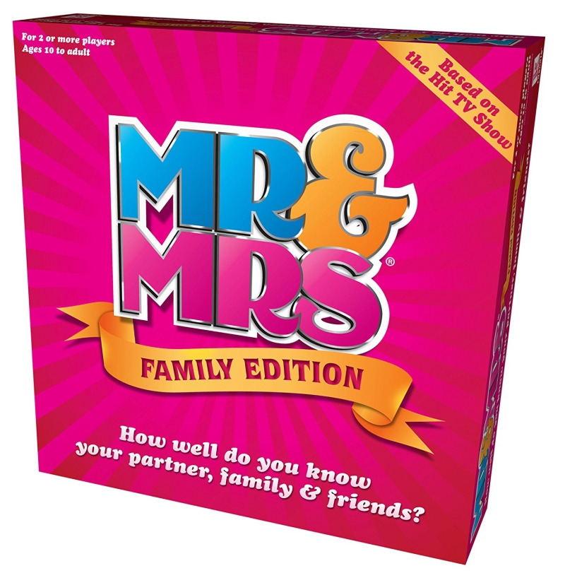 Photo of Mrs & Mrs Family Edition Board Game Review