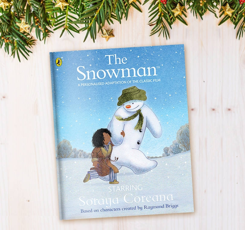 Photo of Penwizard The Snowman Personalised Book Review