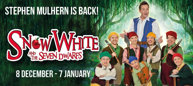 Photo of Snow White and The Seven Dwarfs at The Hawth Crawley Review