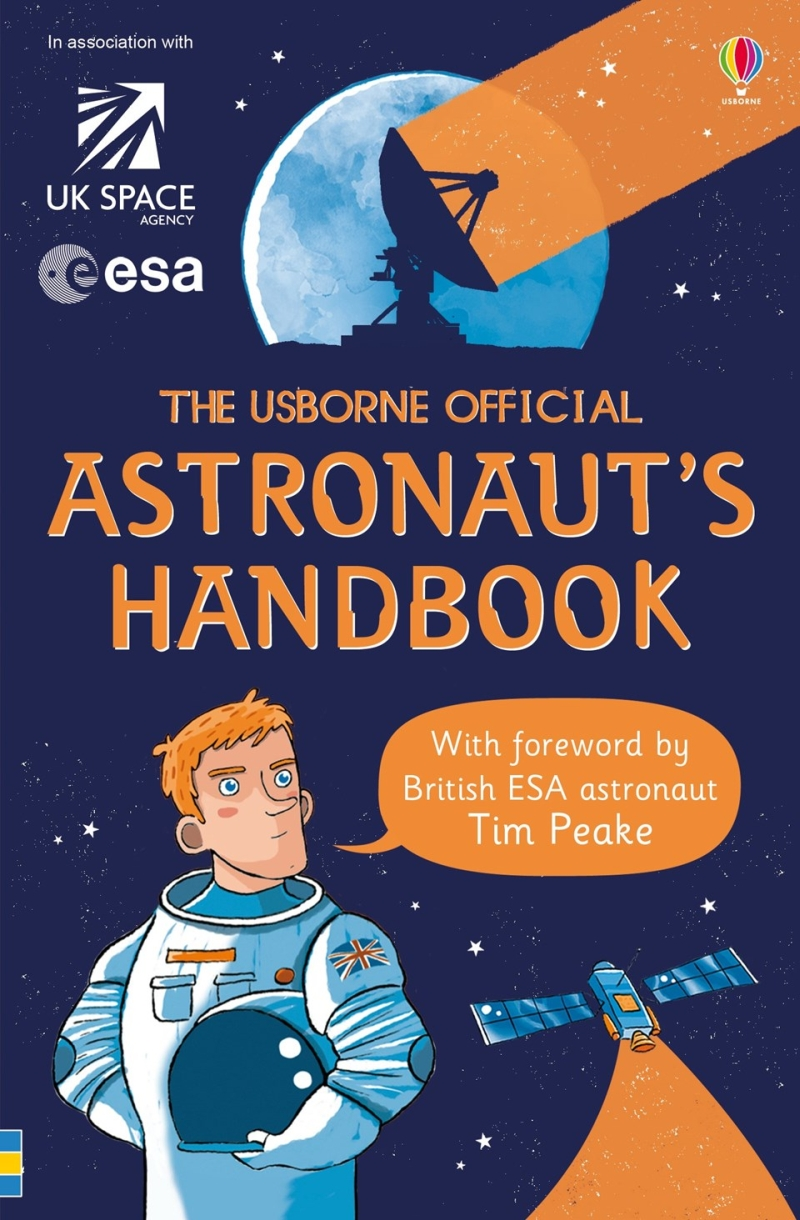 Photo of The Usborne Official Astronaut's Handbook Review