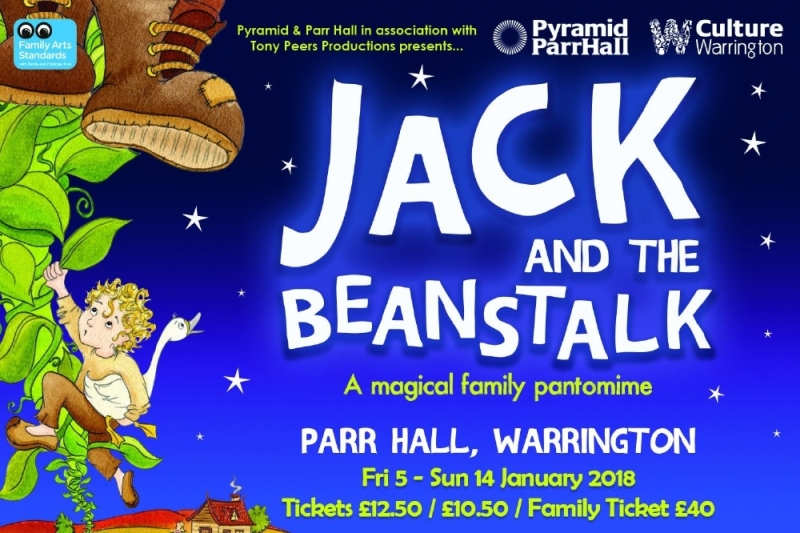 Photo of Jack and the Beanstalk at the Parr Hall Warrington Review